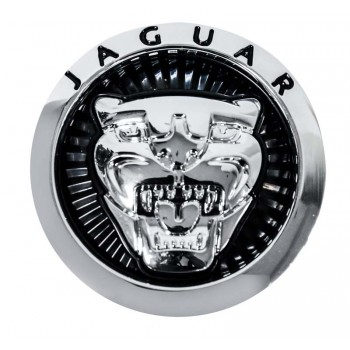 Jaguar Ornament - Grille Badge Black - (C2Z31123-BIG / C2Z31124-SMALL)