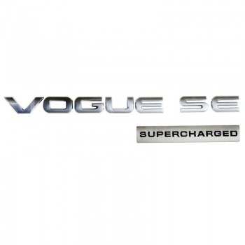 Vogue SE Supercharged - Rear Boot Badge 2013