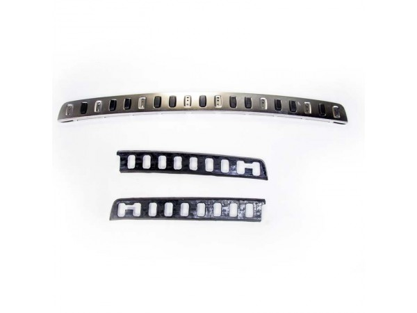 STAINLESS STEEL REAR BUMPER TREAD PLATE - (LR006874)