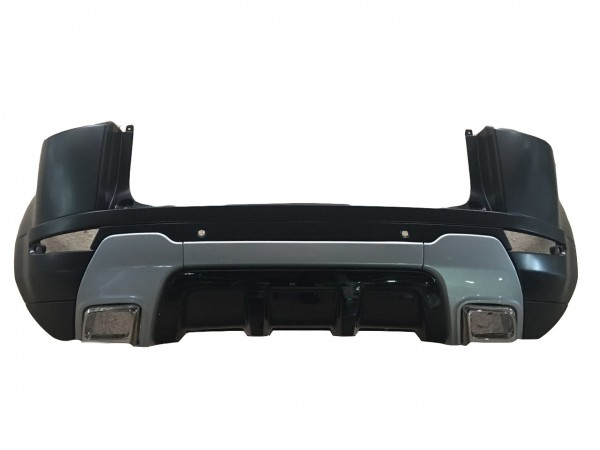 COMPLETE REAR BUMPER COVER - LAND ROVER (LR048301 WITHOUT EXHAUST PIPE)